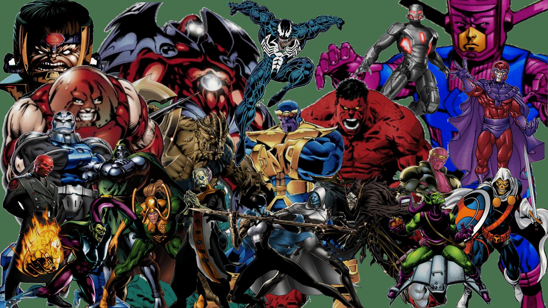 Os 10 Maiores Inimigos e Vilões dos Vingadores