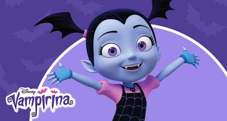 Vampirina, do Disney Junior, ganha álbum de figurinhas exclusivo da Panini