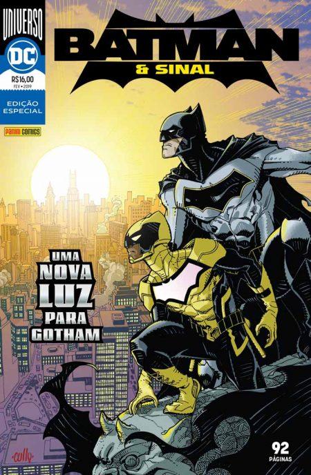 Batman & Sinal chega ao Brasil pela editora Panini em 22 de fevereiro 2
