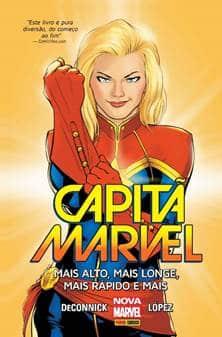 Capitã Marvel ganha encadernado em quadrinhos pela Panini 2