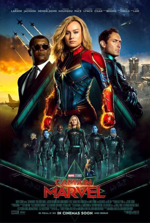 Começa a pré-venda de ingressos para Capitã Marvel 3