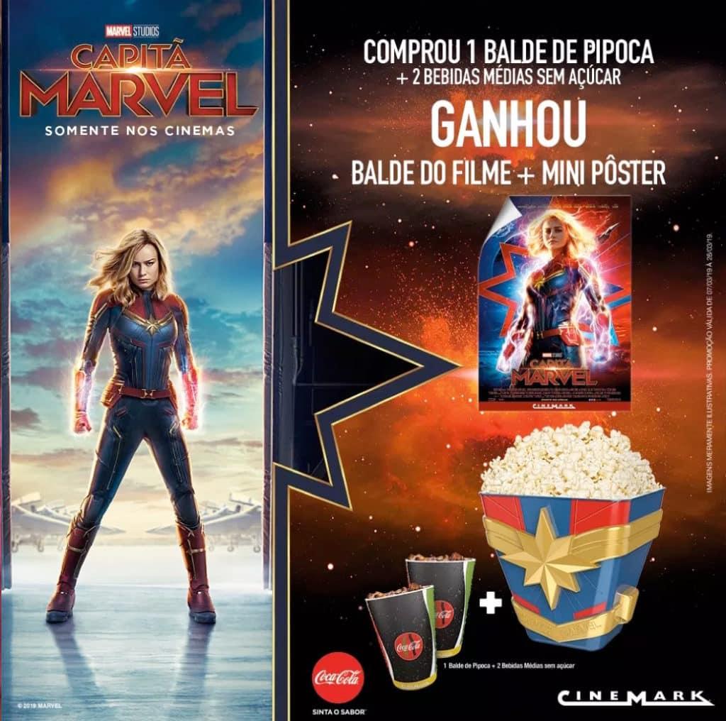Começa a pré-venda de ingressos para Capitã Marvel 2