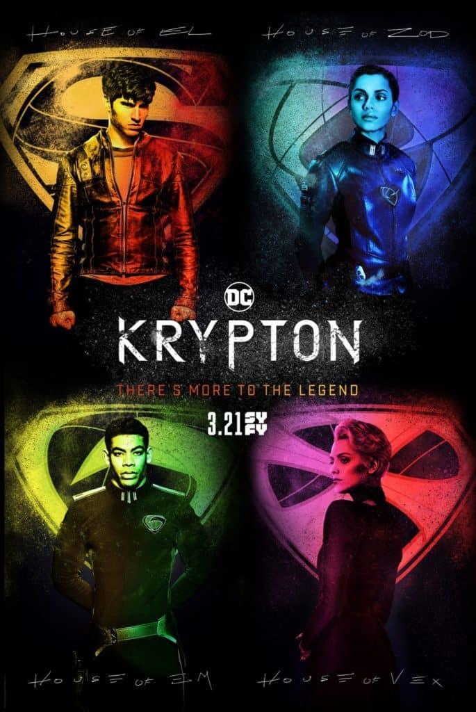 """Trailer de """"Krypton"""" revela data de estreia da segunda temporada e mostra chegada de Lobo 1"""