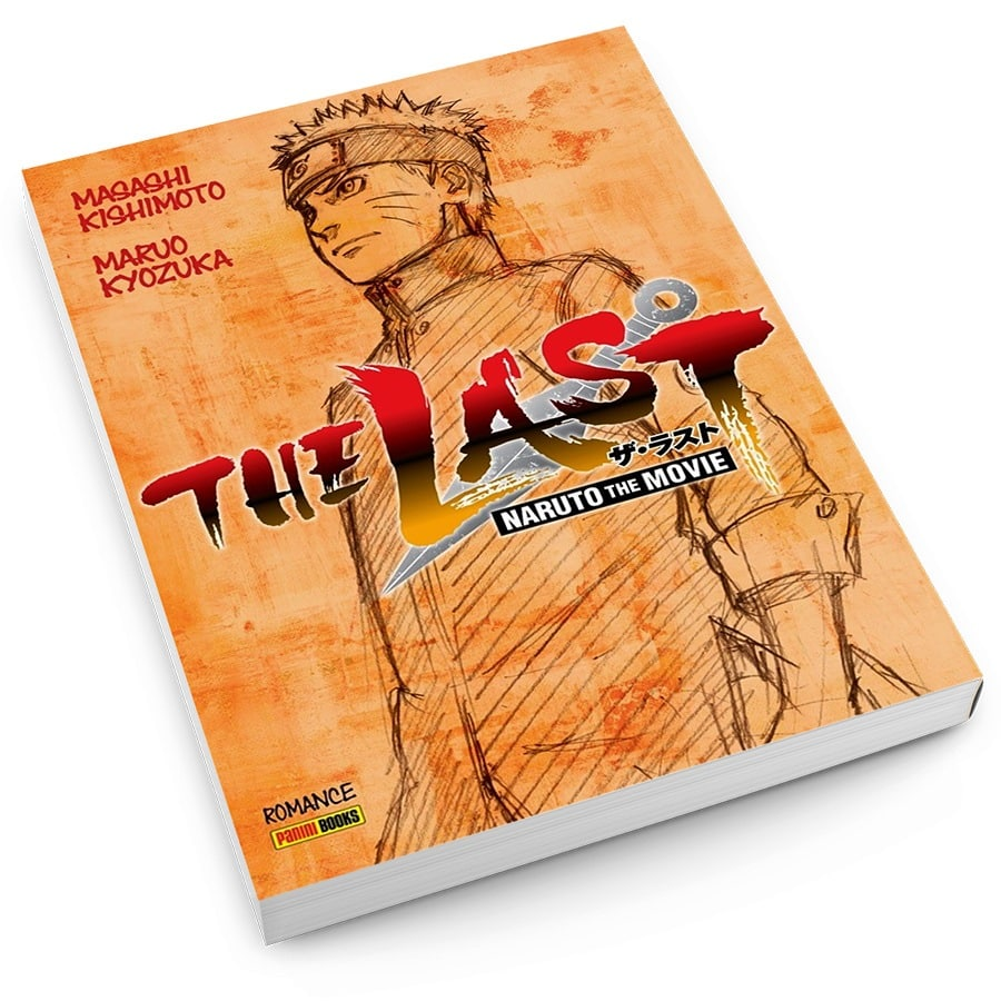 Panini lança no Brasil o livro Naruto The Last 2