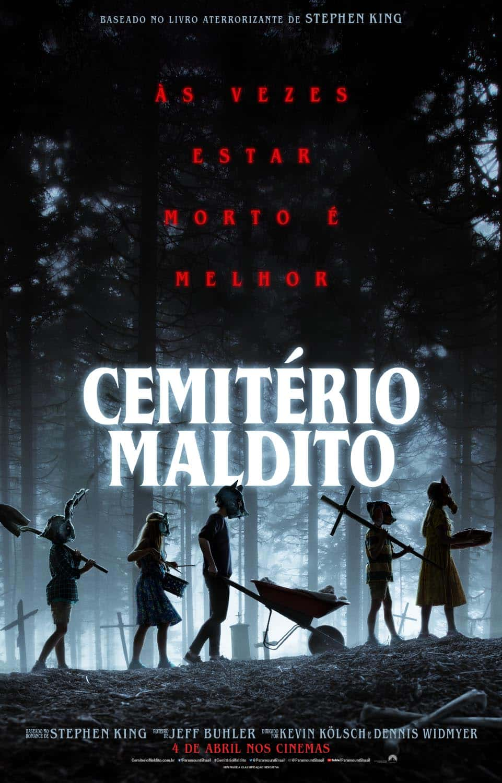 Cemitério Maldito - Confira o Cartaz e Novo Trailer do Remake 1