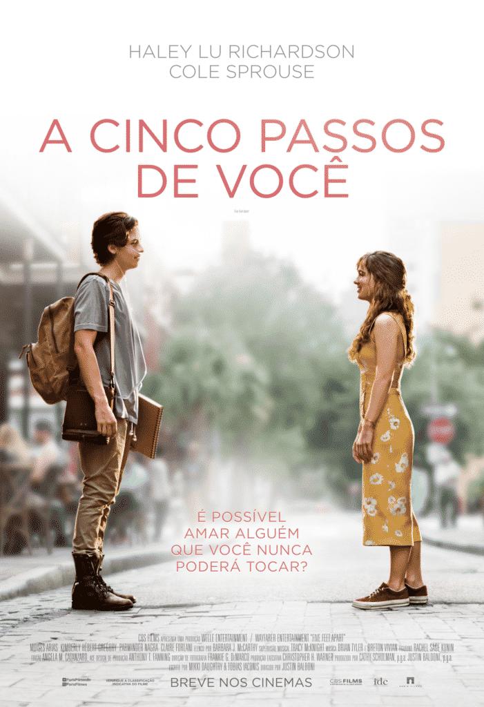 A Cinco Passos de Você ganha segundo trailer a um mês da estreia 2