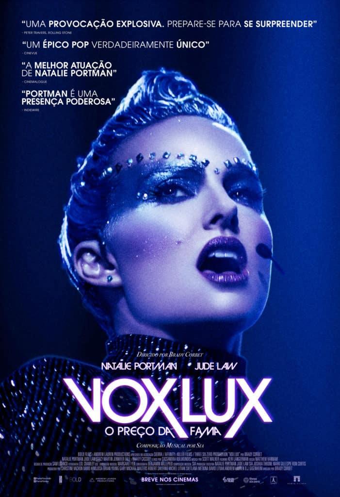 Natalie Portman está de volta em Vox Lux – O Preço Da Fama 2