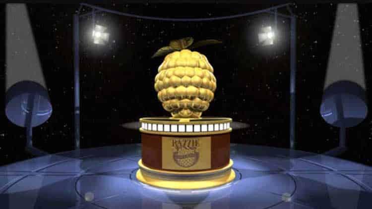 """Divulgados os """"vencedores"""" do 39º Razzie Awards – a Framboesa de Ouro"""