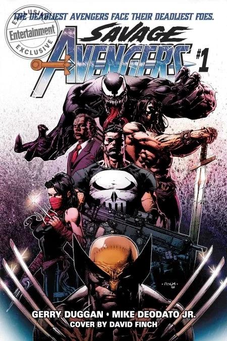 Savage Avengers: Conan se Torna Membro dos Vingadores em Nova Revista 1