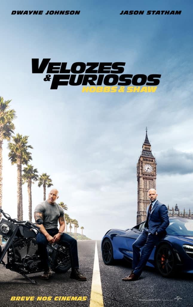 Confira o trailer de Velozes & Furiosos: Hobbs & Shaw! 2