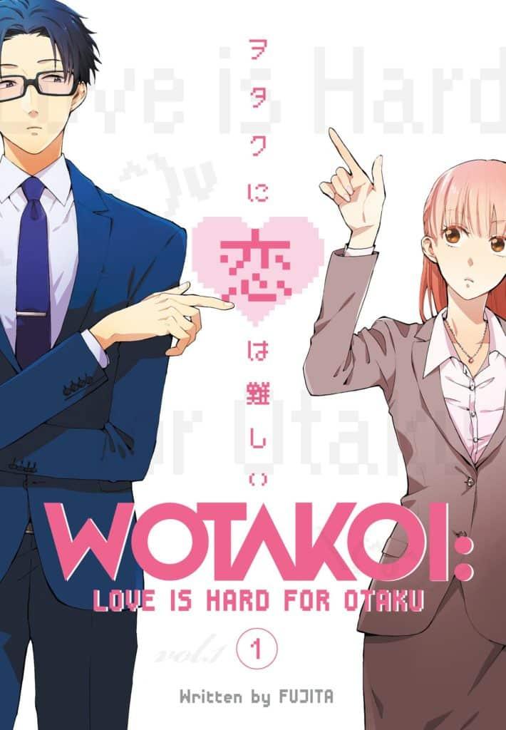 Wotakoi, premiado mangá de Fujita, tem lançamento oficial amanhã, 27 de fevereiro pela Panini 2