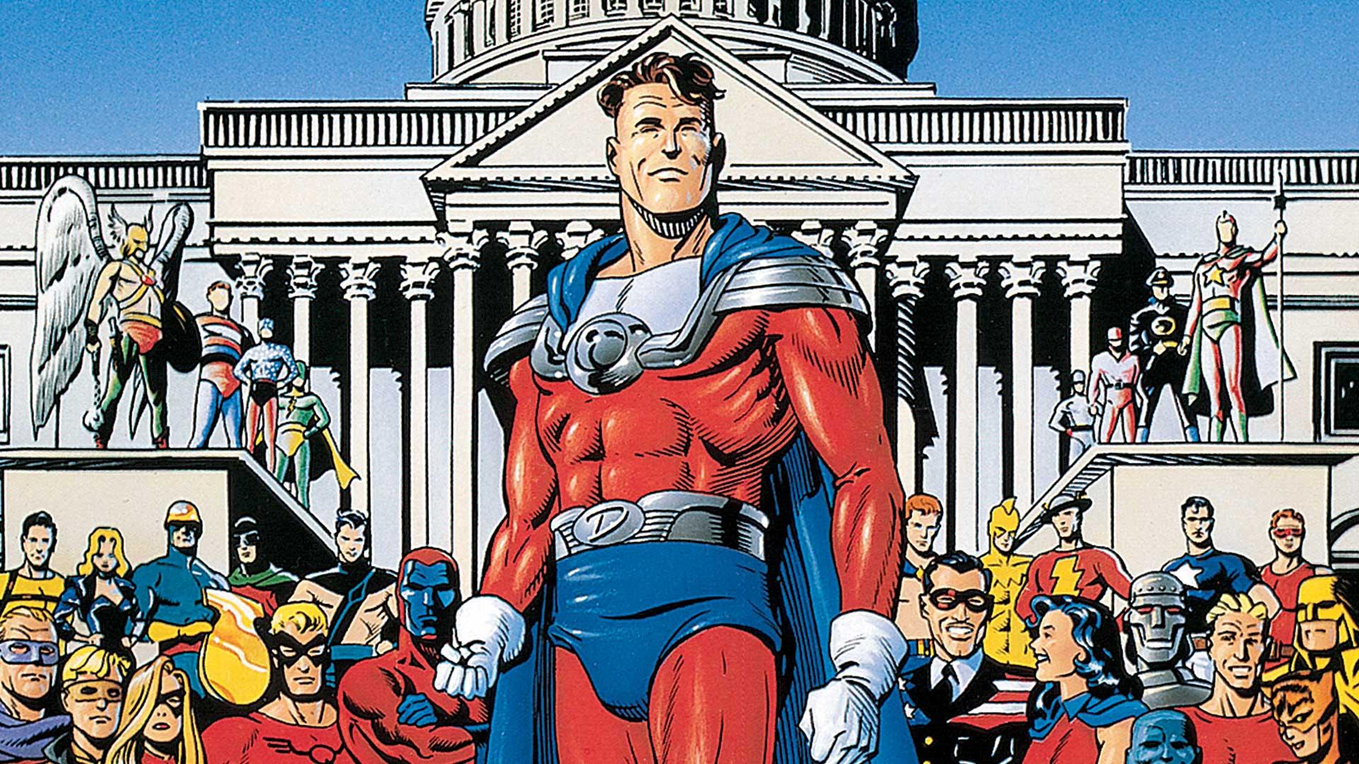 Sociedade da Justiça : A Era de Ouro - O Ultimato 1