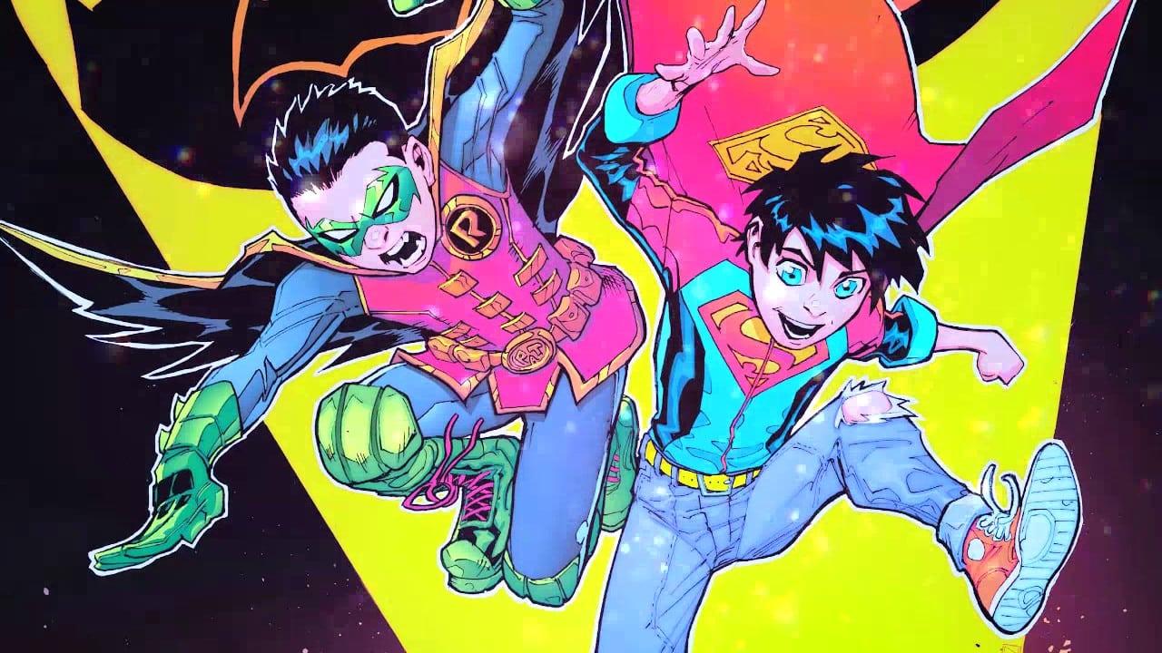 Os SuperFilhos de Peter Tomasi e Patrick Gleason