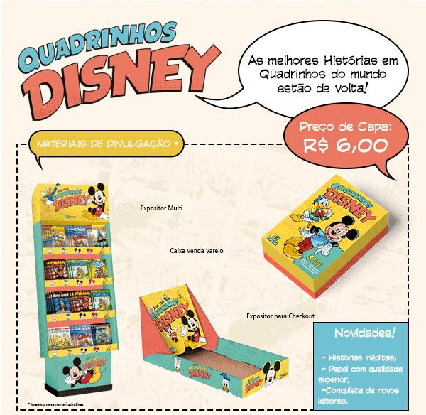 Quadrinhos Disney - Editora Culturama Divulga Mais Detalhes em Evento 5