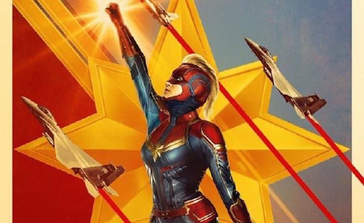 Começa a pré-venda de ingressos para Capitã Marvel
