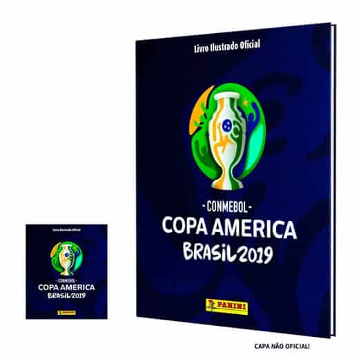 Copa América 2019 - Panini Lança Album Oficial de Figurinhas 1