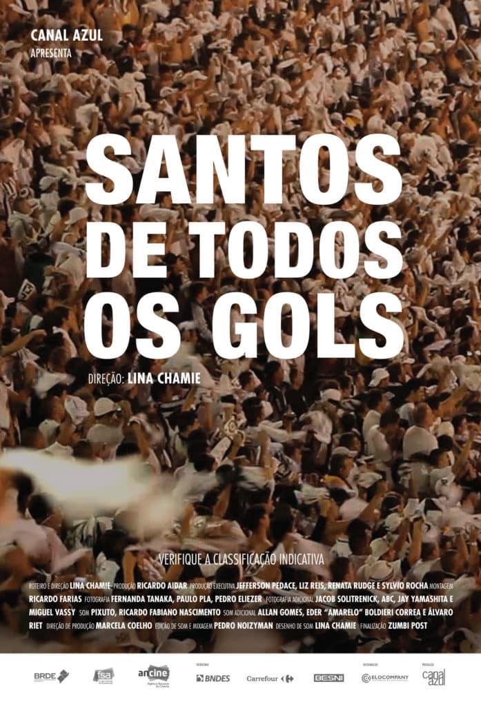 Santos de Todos os Gols, longa que estreia em 18 de abril nos cinemas, relembra mais de 12.500 gols marcados pelo time 2