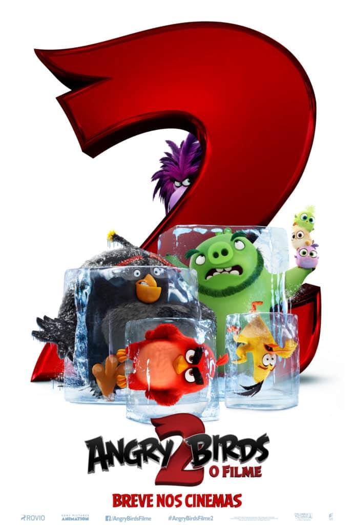 Sony divulga o trailer de Angry Birds 2 – O Filme 2