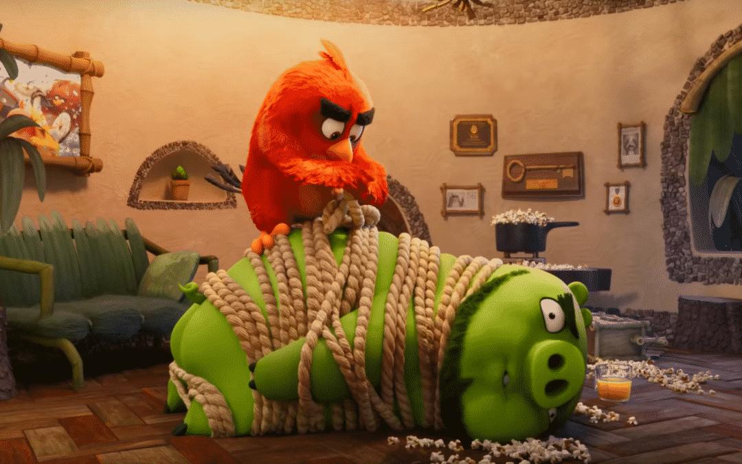 Sony divulga o trailer de Angry Birds 2 – O Filme