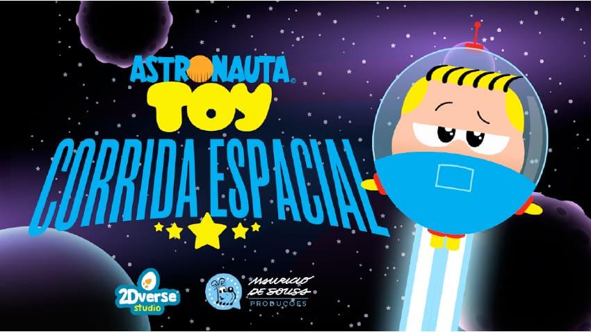 Turma da Mônica anuncia novo jogo gratuito do Astronauta para smartphones