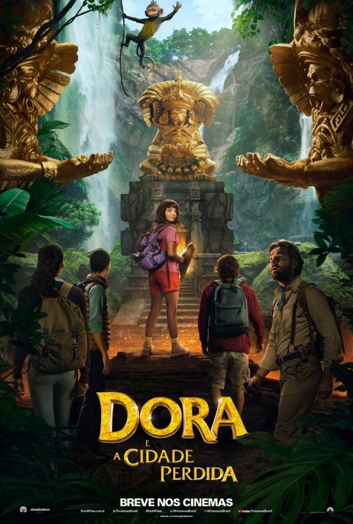 Dora e a Cidade Perdida - Confira o Cartaz Oficial do Filme! 1
