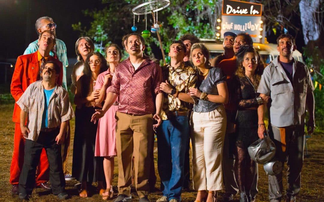 Elenco de 'Cine Holliúdy 2 – A Chibata Sideral' recebe convidados em pré-estreia em Fortaleza