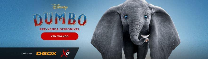 Cinemark anuncia pré-venda de Dumbo
