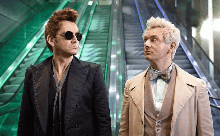 Amazon Prime divulga trailer final de Good Omens, o seriado de Belas Maldições