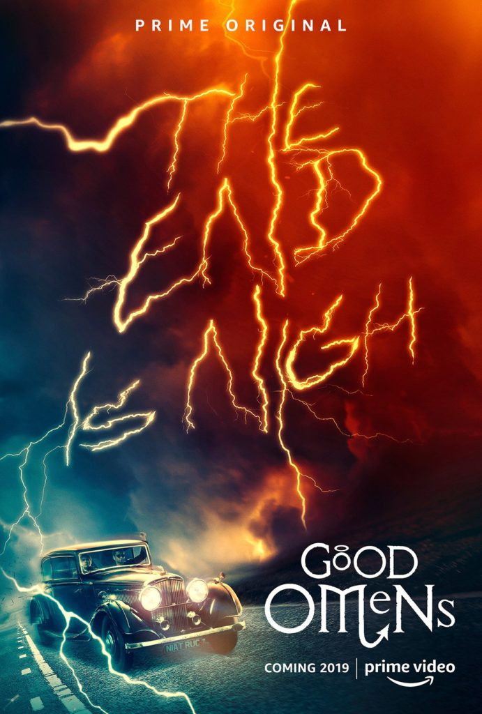 Amazon Prime divulga trailer final de Good Omens, o seriado de Belas Maldições 2