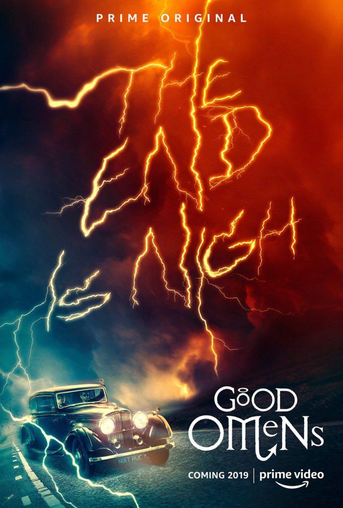 Amazon Prime divulga trailer final de Good Omens, o seriado de Belas Maldições 2