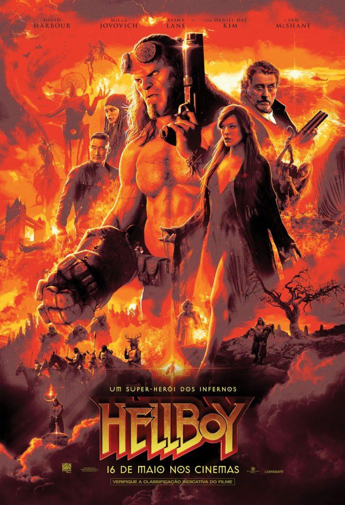 Imagem Filmes divulga o novo trailer nacional de Hellboy! 2