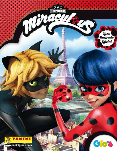 Novo album de figurinhas da Panini tem a super-heroína Ladybug e seu amigo Cat Noir como estrelas principais 2