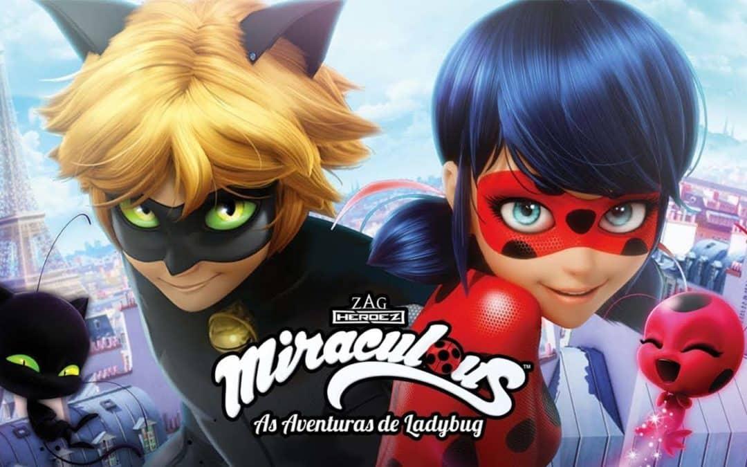 Novo album de figurinhas da Panini tem a super-heroína Ladybug e seu amigo Cat Noir como estrelas principais