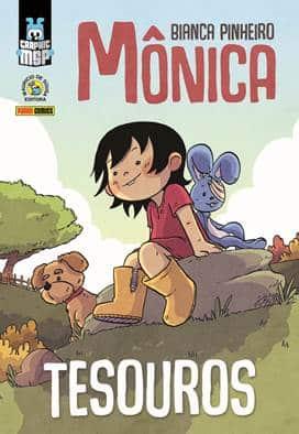 Depois do sucesso de Mônica: Força, Mônica: Tesouros é a nova Graphic MSP assinada por Bianca Pinheiro 2