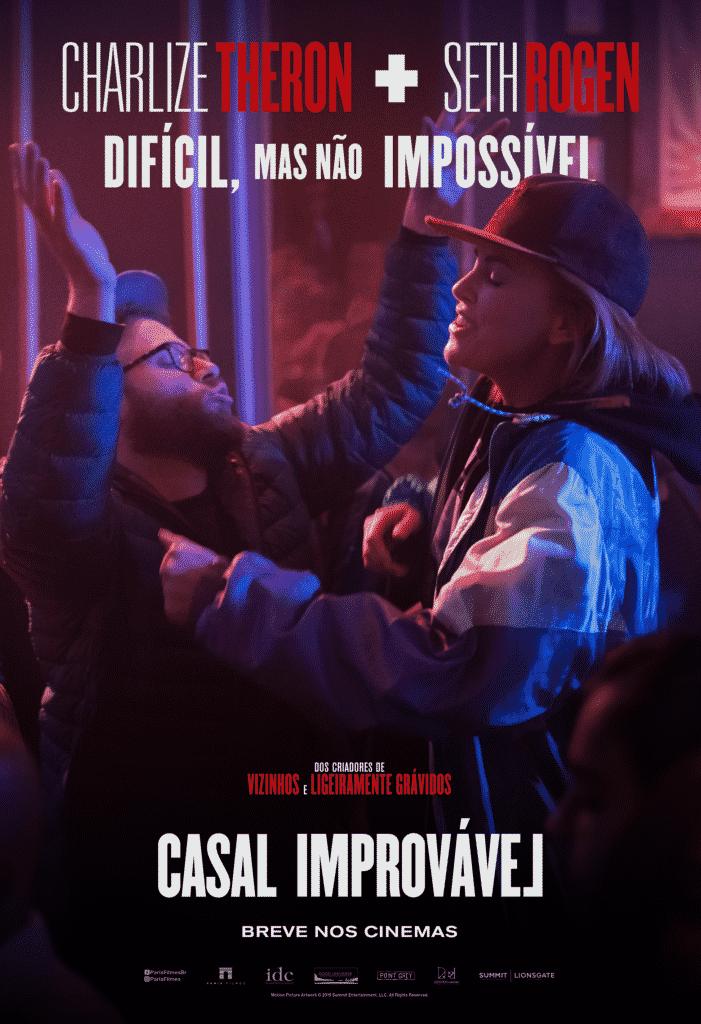 Paris Filmes divulga o primeiro trailer de Casal Improvável, com Seth Rogen e Charlize Theron 4