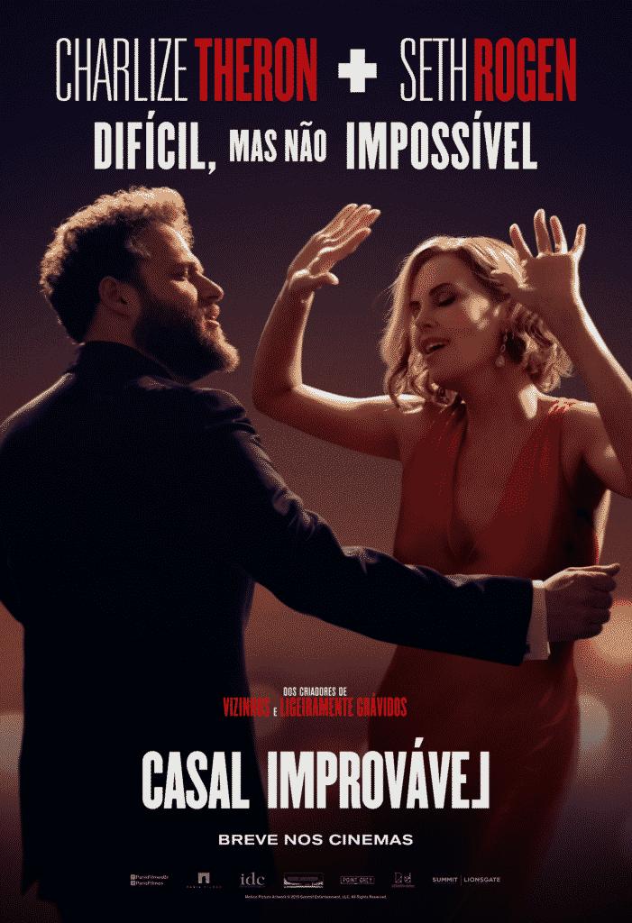 Paris Filmes divulga o primeiro trailer de Casal Improvável, com Seth Rogen e Charlize Theron 5