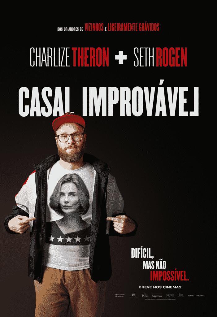 Paris Filmes divulga o primeiro trailer de Casal Improvável, com Seth Rogen e Charlize Theron 3