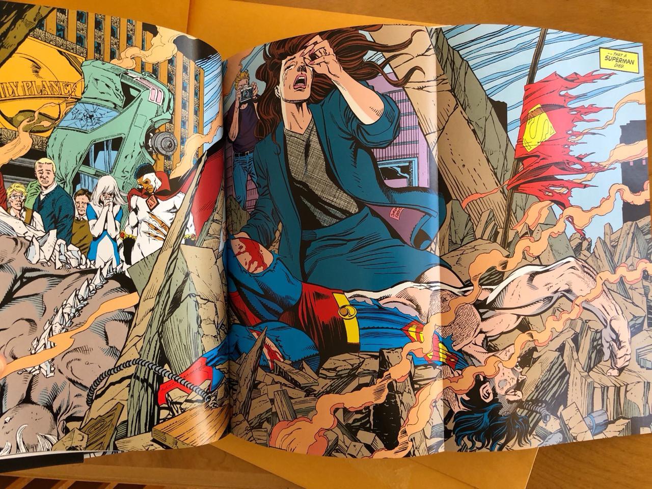 Novo Omnibus da Morte do Superman Chega aos EUA Em Abril 2