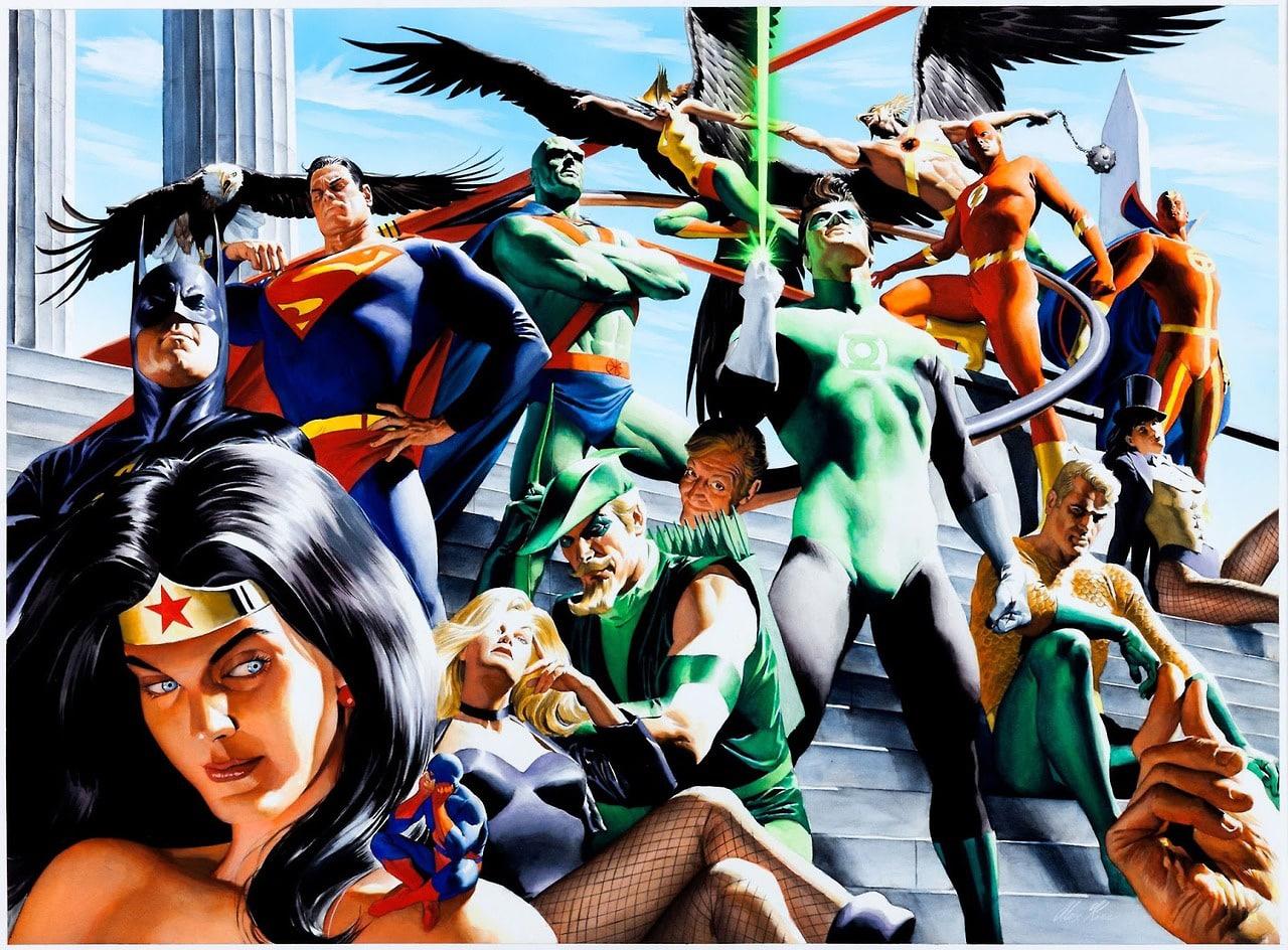 Liga da Justiça Torre de Babel