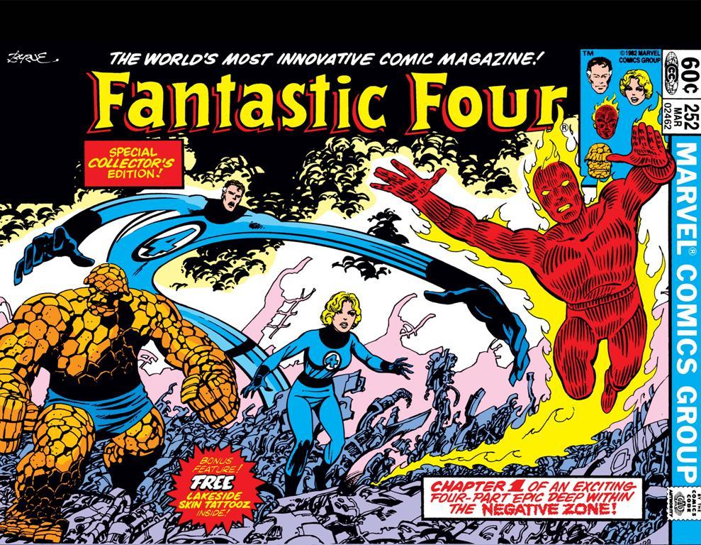 O Quarteto Fantástico de John Byrne 1