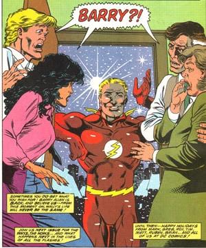 O Retorno de Barry Allen - Uma das Melhores Histórias do Flash 1
