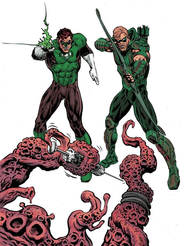 Grant Morrison Traz Homenagem a Lanterna Verde/Arqueiro Verde 1