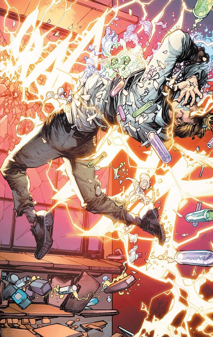 """Páginas de """"Flash: Year One"""" são liberadas pela DC 4"""