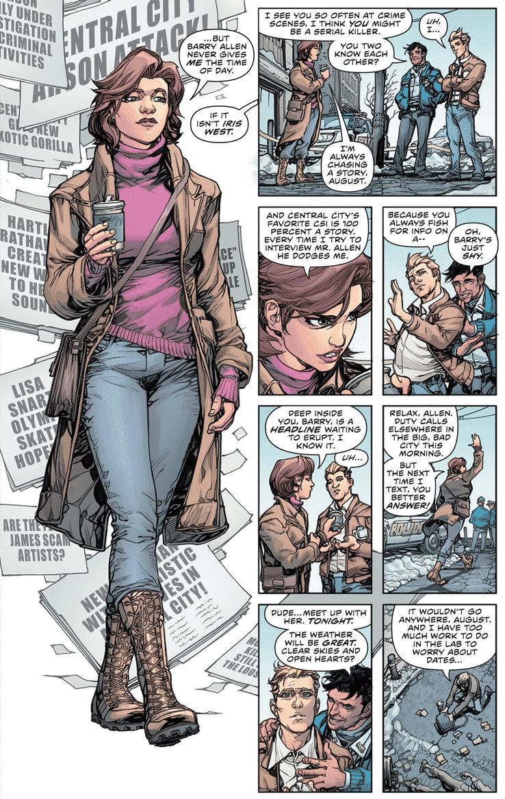 """Páginas de """"Flash: Year One"""" são liberadas pela DC 2"""