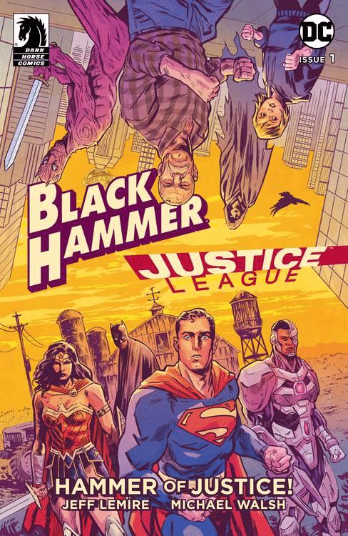 Black Hammer & Liga da Justiça terão Crossover 2