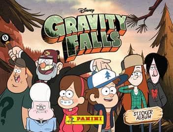 Panini lança album de figurinhas de Gravity Falls 1