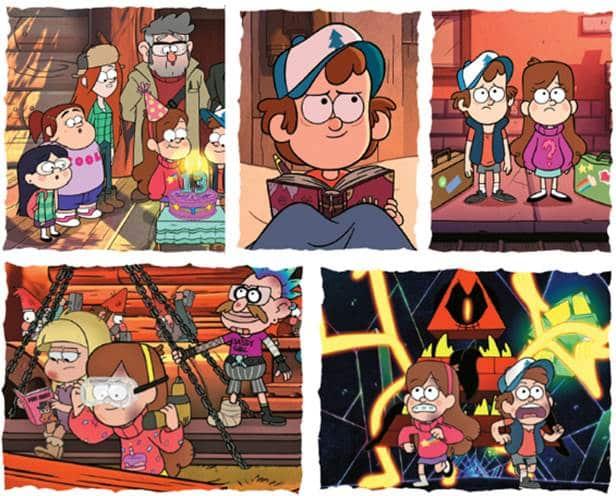 Panini lança album de figurinhas de Gravity Falls 2