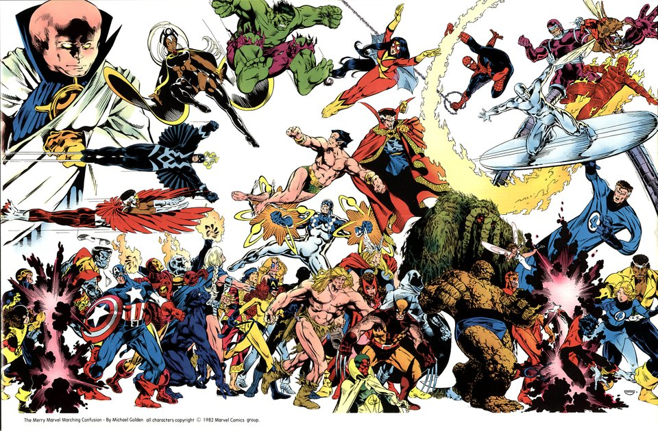 Mark Waid Vai Contar a História Definitiva do Universo Marvel