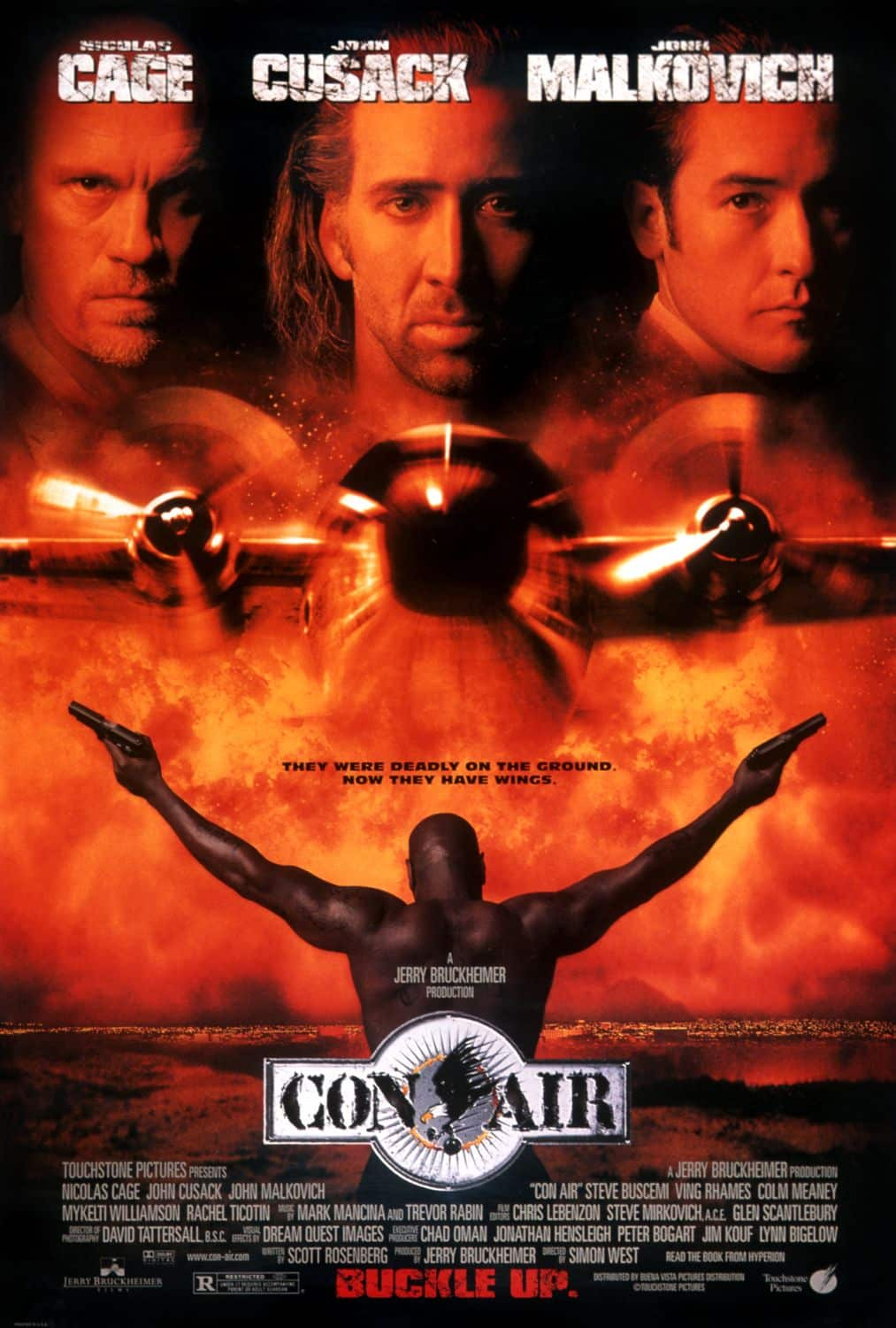 Con Air - A Rota da Fuga - O Ultimato Retrô 1