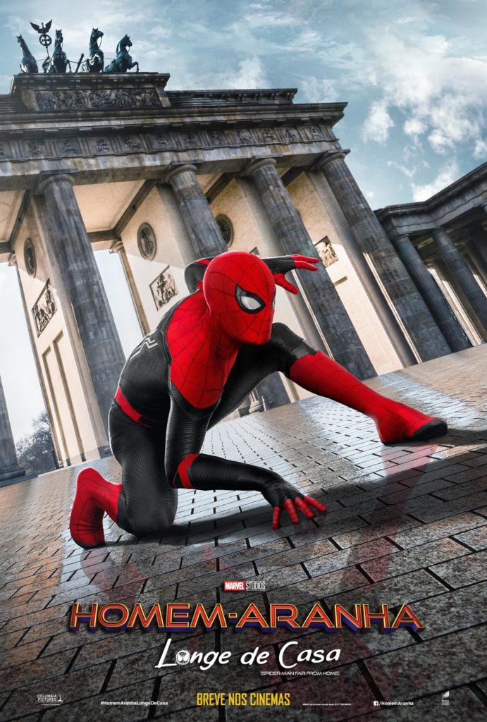 Sony divulga novos pôsteres de Homem-Aranha: Longe De Casa 4